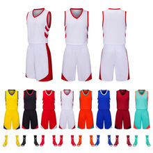 New Basketball Suit for Men and women in 2019, Customized Basketball Suit, Sweat Absorption, Air Permeability and Quick Drying