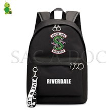 RIVERDALE South Side Backpack Harajuku School Bags for Girls College Students Laptop Backpack Casual Travel Rucksack lady new embroidery unique nice school bag ethinic travel rucksack shoulder bags women national style college students backpack