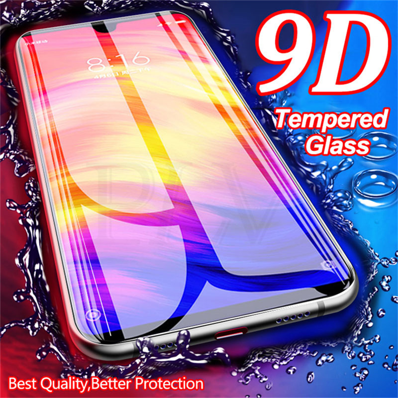 9D Full Cover Tempered Glass For Xiaomi Redmi Note 7 8 6 Pro Screen Protector Glass For Redmi 5A 6A 5 Plus 6 Pro Protective Film