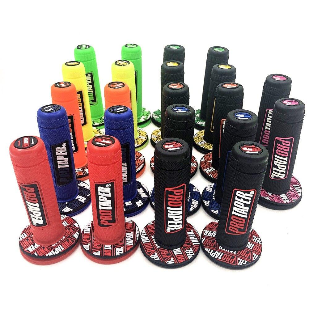 Рукоятка Pro Cone для мотоцикла, высокое качество, Protaper, для внедорожника, питбайка, мотокросса 7/8 дюйма, руль, резиновые гелевые ручки, тормозны...