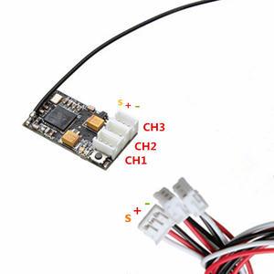Image 5 - DasMikro 2.4GHz ASF CH3 Micro Receiver Unit for KO Propo Mini Z AMZ AMR RC Car Parts