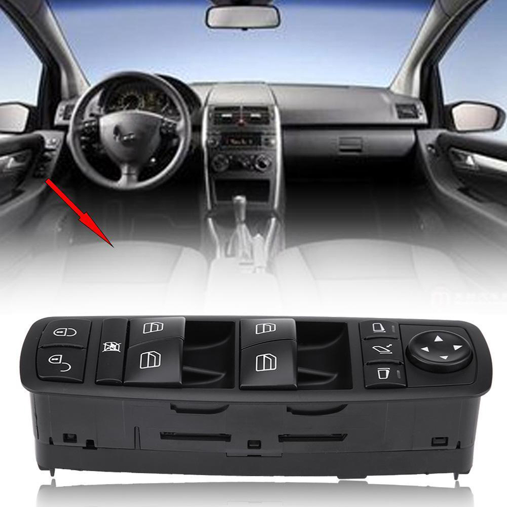 Car accessories Power Window Mirror Control Switch Regulator Button for Mercedes Benz B180 B200 B260 A180 <font><b>A200</b></font> A260 A1698206710 image