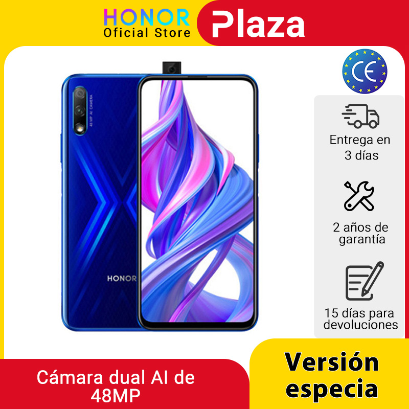 In Stock Special Version Honor 9X 4GB 128GB Mobbile phone 48MP AI Dual Camera 6.59'' Mobile Phone Google Play CellPhone|Cellphones| - AliExpress