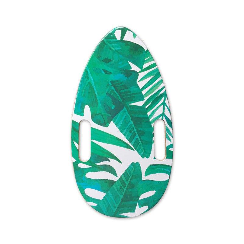 44*25cm 8-Layer Maple Fish Board Deck Mini Banana Leaf Single Rocker Deck Adults Electric Skateboard Accessories Penny Board