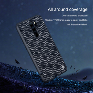 Image 5 - Ốp Lưng Cho Xiaomi Redmi Note 8 Pro Nillkin Twinkle Ốp Lưng Polyester Phản Quang Trong Cho Xiaomi Redmi Note 8