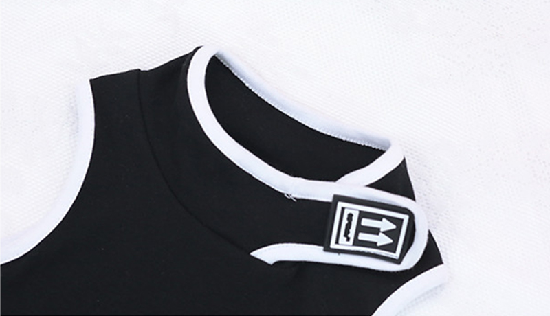 Summer girls crop top baby strapless t shirt kids tee children streetwear clothes letter elastic hook loop hollow 3 to 12 yrs