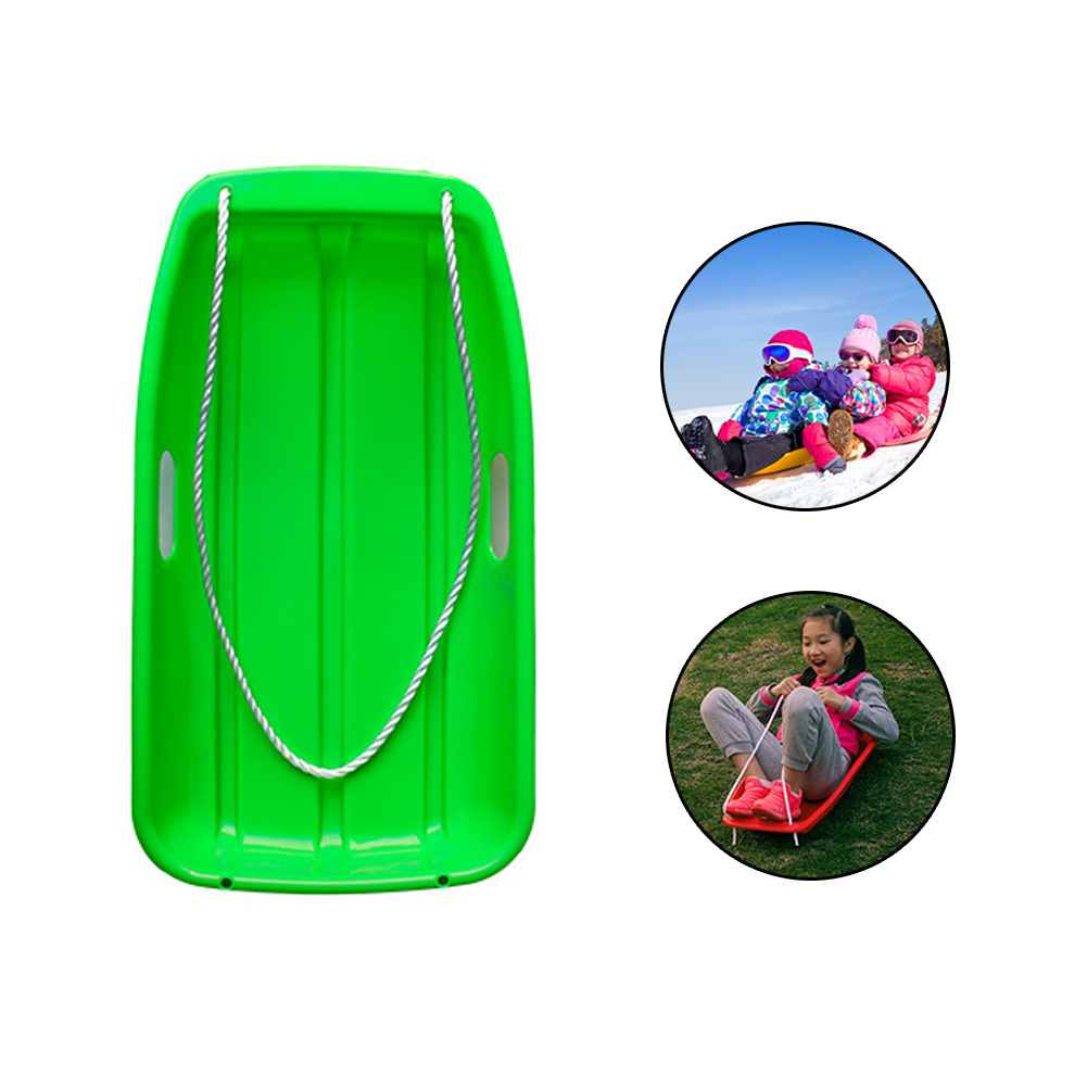 Dropshipping Snow Sled Kids Winter Outdoor Child Games Snow Board Grass Skiing Snowboard
