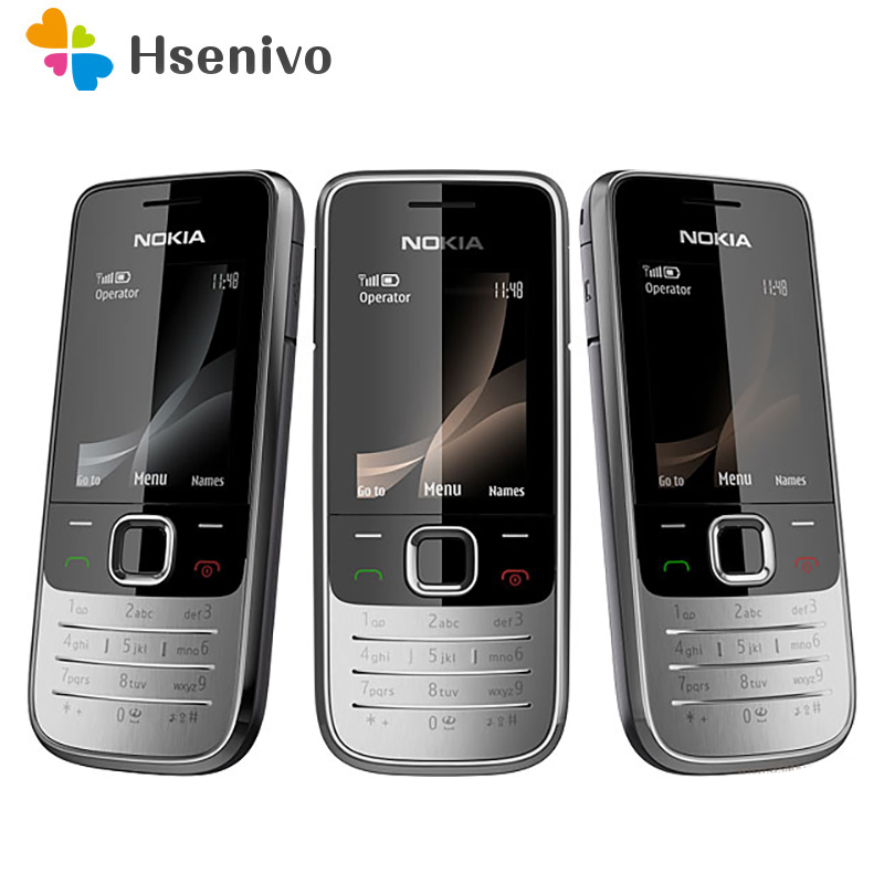 <font><b>2730</b></font> Original phone <font><b>Nokia</b></font> <font><b>2730</b></font> Cheap phones Unlocked GSM WCDMA 3G phone with Russian keyboard Free shipping image