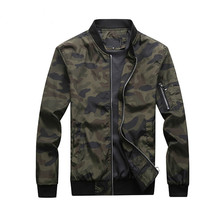 New Autumn Mens Camouflage Military Jackets Male Coats Bomber Jacket Smart Casual Outwear Plus Size M 7XL