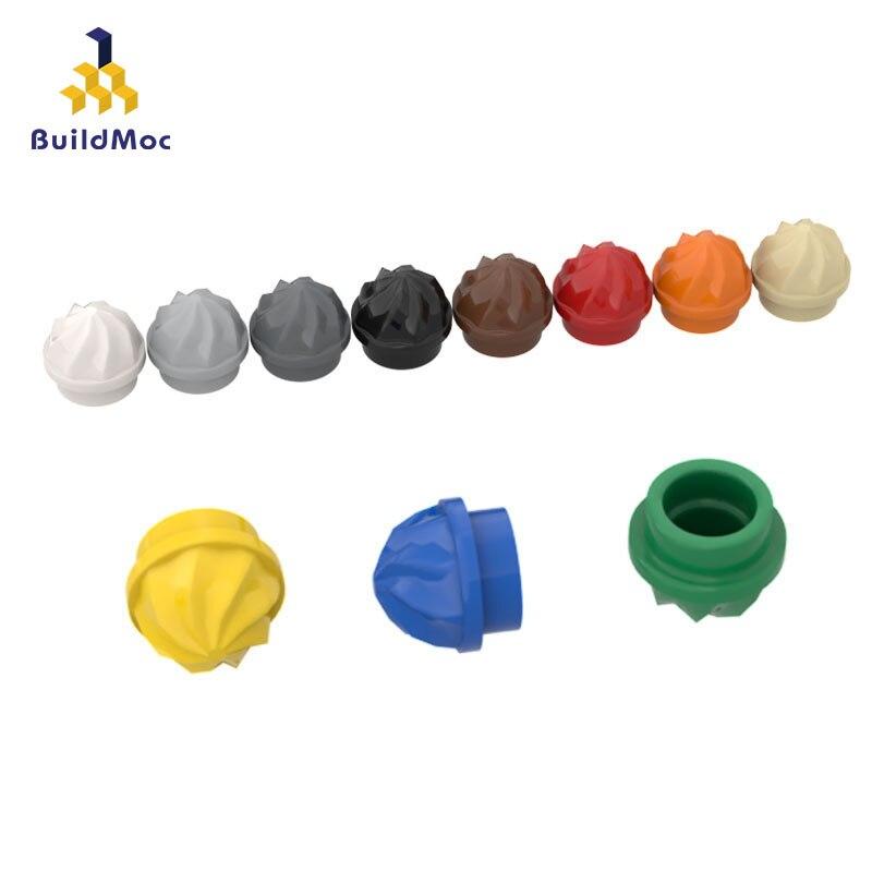 BuildMOC Compatible Assembles Particles 15470 1x1 Ice Cream Building Blocks Parts DIY LOGO Educational Creatives Gift Toys