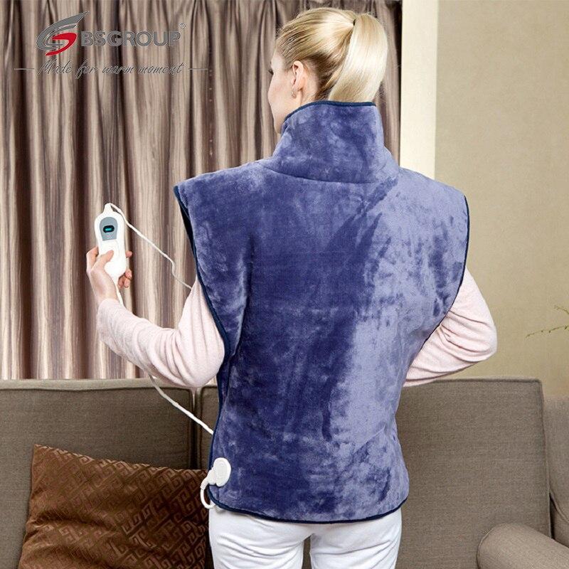 Электрическая грелка для снятия симптомов боли в шее и плечах, 220 В