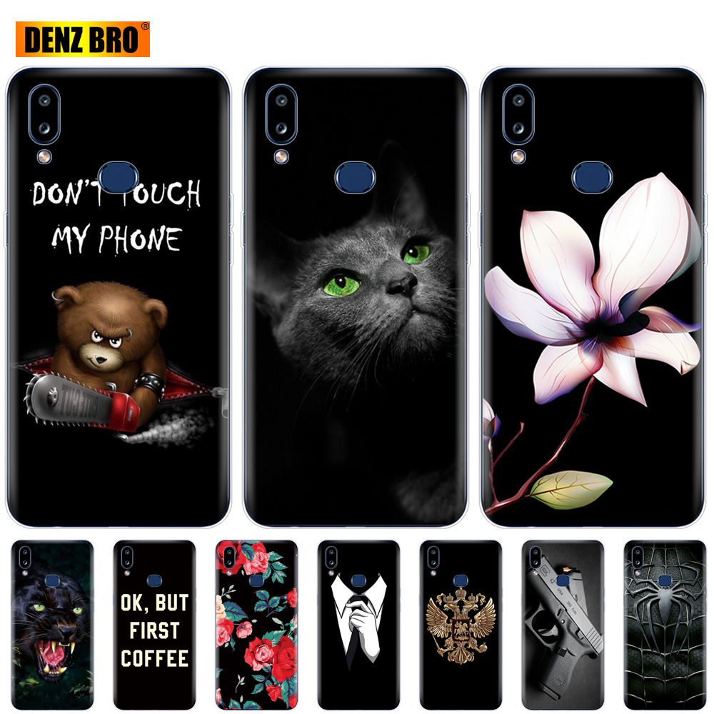 Silicon Case For Samsung A10S Case Soft TPU Back Phone Cover For Samsung Galaxy A10S GalaxyA10S A 10S <font><b>A107F</b></font> Painted Coque bumper image