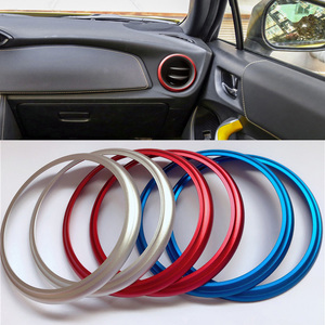 3 colors For Toyota 86 GT86 Scion FR-S For Subaru BRZ accessories Car AC Air Outlet Conditioning Cover Ring Vent Decoration Trim