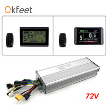 Accessories Conversion-Kit 60a-Controller Electric-Bicycle-Display Display 72v BOLLFIT