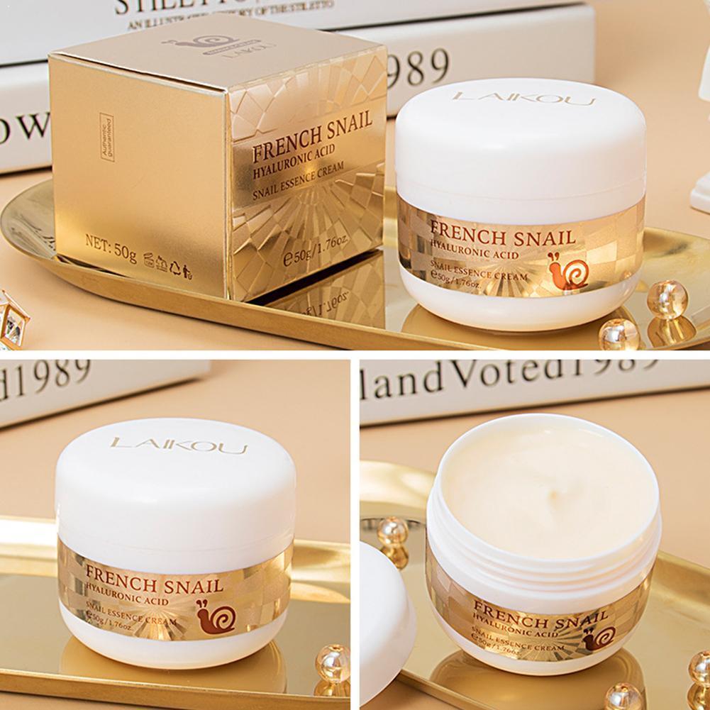 50ml caracol creme de rosto hidratante ácido hialurônico anti rugas creme para rosto nutritivo dia creme envelhecimento x4r3