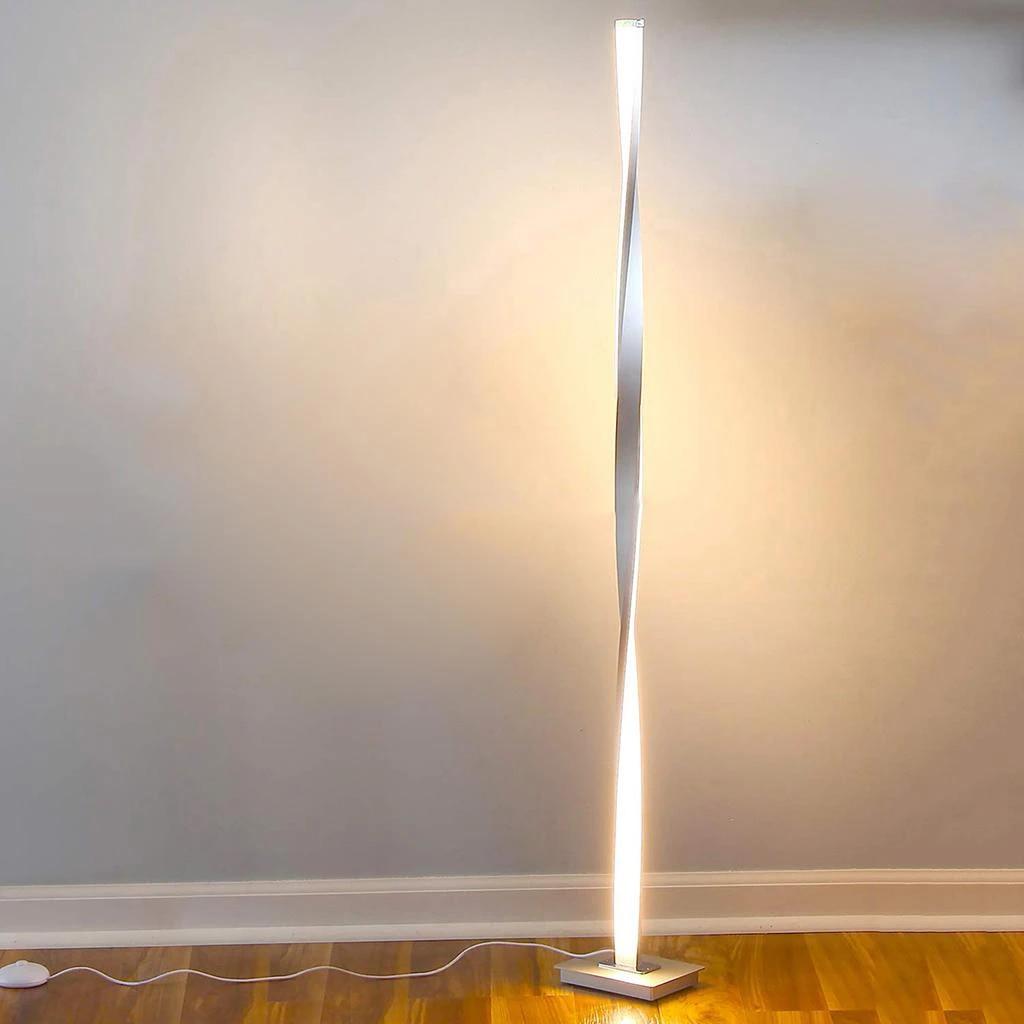 super bright floor lamps tall standing pole light modern contemporary lighting led floor light for living room bedroom office