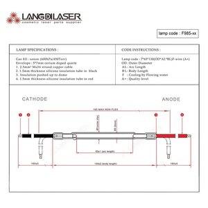 Image 5 - Лампа Великобритания IPL & SHR 7*65 * 130F провод, код лампы F985, фотолампа, ксеноновая дуговая лампа