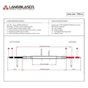 Image 5 - UK IPL&SHR lamp 7*65*130F   wire , lamp code F985  , IPL flash lamp , xenon arc lamp
