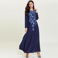 Plus Size Abaya Kaftan Dubai Islamic Arabic Hijab Muslim Dress Vestidos Arabes Pakistani Turkey Robe Arabe Baju Muslim Wanita