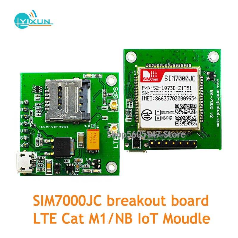 LTE Cat M1/NB IoT Moudle Kits For Japan SIMCOM SIM7000JC Breakout Board Support GNSS GPS GLONASS BEIDOU B1/B3/B5/B8/B18/B19/B26