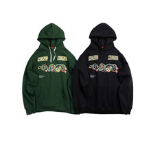 2019 Spring And Autumn Mens New Casual Letter Pattern Printing Hooded Hoodies Loose Temperament Trend Cotton Harajuku