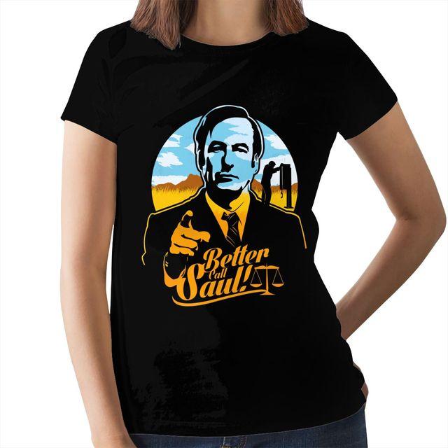 Better call Saul Damen T-Shirt Goodman breaking heisenberg walter bad white tee