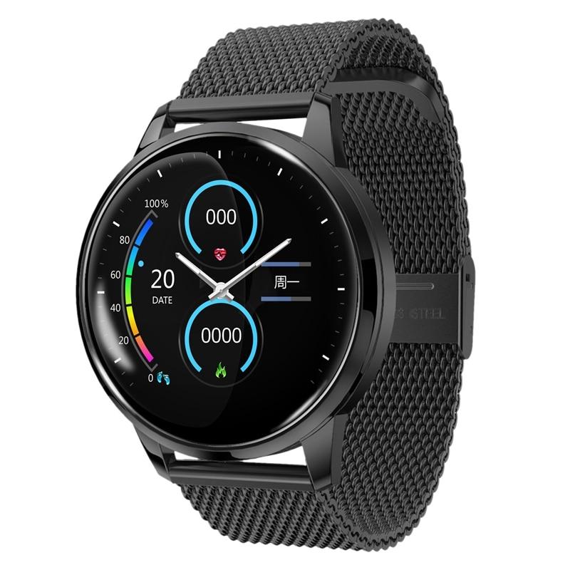 IP67 Waterproof D28 Sports Smart Watch Smart Bracelet Heart Rate Blood Pressure Monitoring Health Reminder Sports Bracelet Black