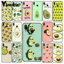 Yinuoda avocado esthetische Gteen Fruit Telefoon Case voor Xiaomi Redmi Note 7 5 4 Redmi 5plus 6A Note8 4X Note8Pro(China)