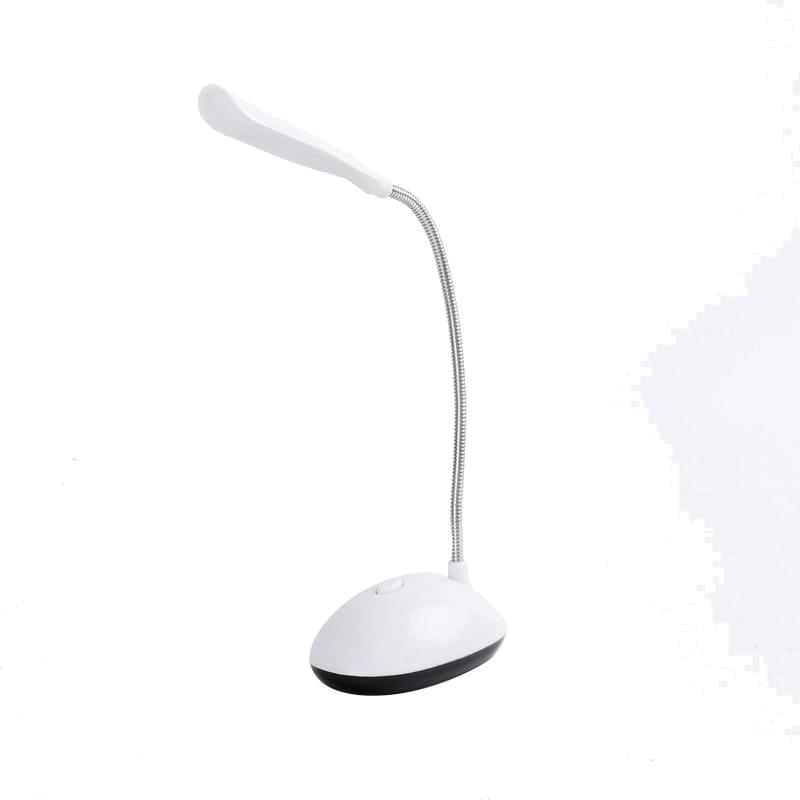 Battery Powered Desk Lamps Night Light Eye Protection Reading Book Lights Luminaria LED 360 Degree Rotating Children Table Lamp
