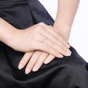 Image 5 - DOM kadın yüzük 925 ayar gümüş ayarlanabilir yüzük zarif kelebek inci yüzük kadınlar için orijinal güzel takı SVR395