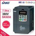 Sako VFD 380V 7.5KW Солнечный фотоэлектрический инвертор регулятор мощности для использования насоса