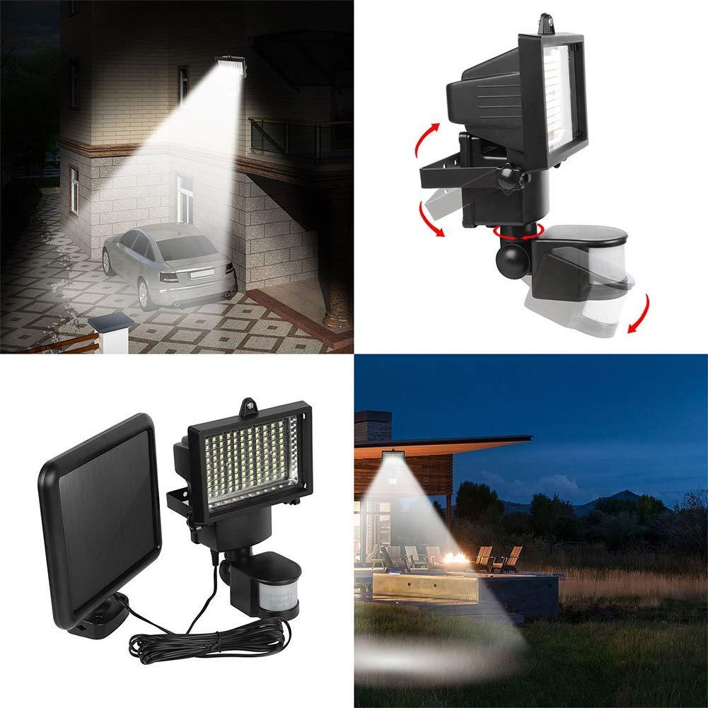 Sensor de movimento de energia solar ao