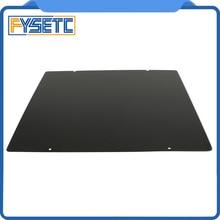 310x310mm czarny dwustronny teksturowany PEI wiosna blacha stalowa malowana proszkowo PEI płyta dla CR10 CR 10S CR10S