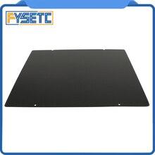 310x310mm siyah çift taraflı dokulu PEI bahar çelik levha toz kaplı PEI levha CR10 CR 10S CR10S