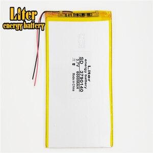 Image 4 - 9 cal 10 cal duża pojemność 3.7 V bateria tableta 6000 mah każda marka tablet uniwersalny akumulatory litowe 3790140
