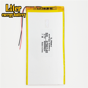 Image 4 - 9inch 10inch large capacity 3.7 V tablet battery 6000 mah each brand tablet universal rechargeable lithium batteries 3790140