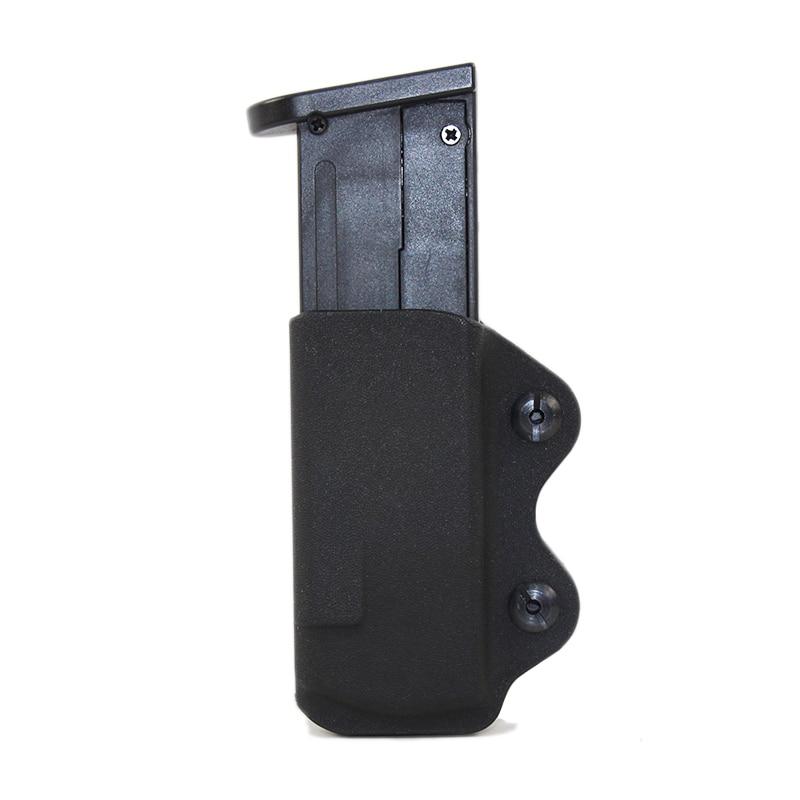 IWB KYDEX Holster Gun Magazine Case Pouch Fits For Glock 17 19 23 26 27 31 32 33 Airsoft Pistol 9mm Magazine Pouch Holster Case