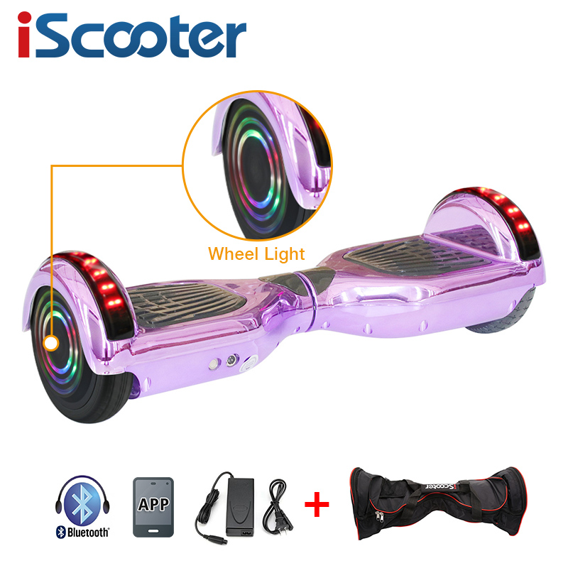 UL2722 6.5 inch Hoverboard or Electric Skateboard with steering-wheel and self Balancing Feature 22