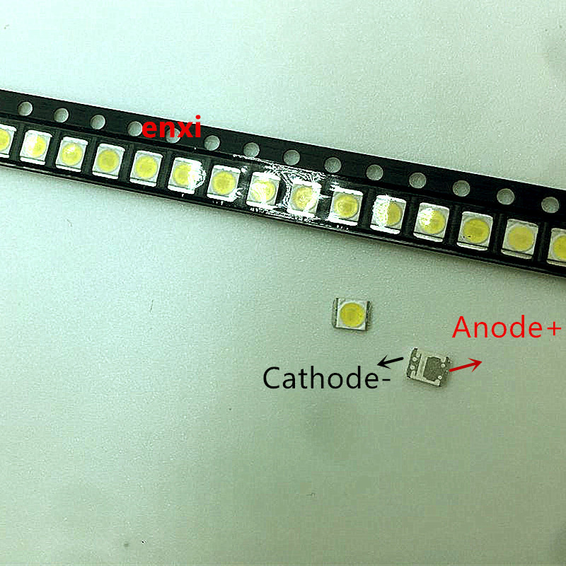 500PCS Original FOR  LG Innotek 1W  2835 3528 1210 3V  For SAMSUNG LCD Backlight Application LED Cool Cold White Repair