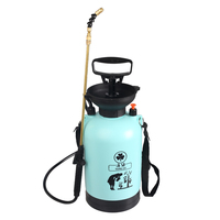 Hand Pressure Spray Bottle Watering Gardening Watering Pot Agriculture High Pressure Sprayer Medication Bucket Water Spray Pot