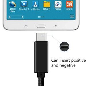 Image 4 - Usb タイプ c ケーブル macbook pro のためのサムスン S9 S10 huawei 社 P30 高速充電 pd 高速充電 100 ワット 5A usb c usb c ケーブル