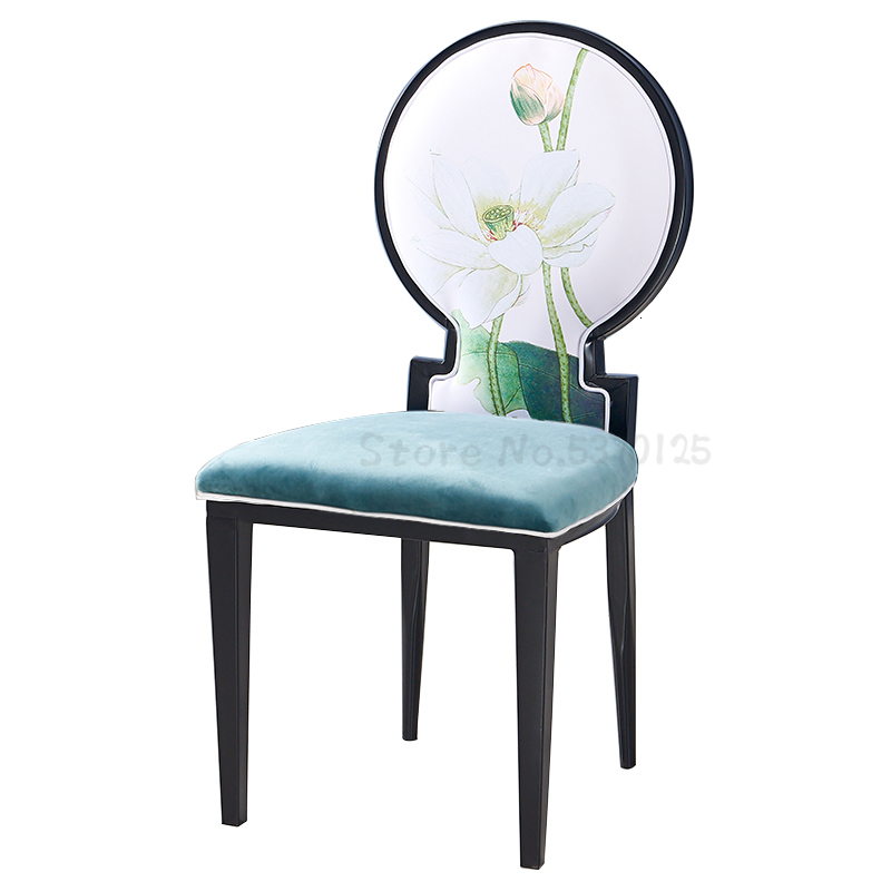 Chairs modern minimalist classical iron restaurant box  banquet table and chair hot pot dining |  - title=