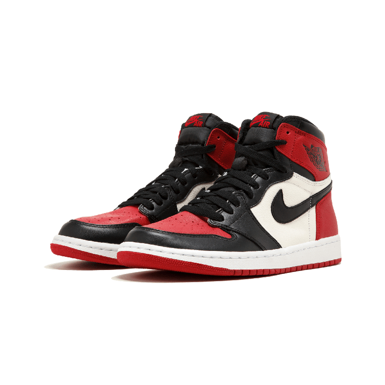 Nike Air Jordan 1 Original Kids Shoes Breathable Children Basketball Shoes Outdoor Sports Sneakers #555088
