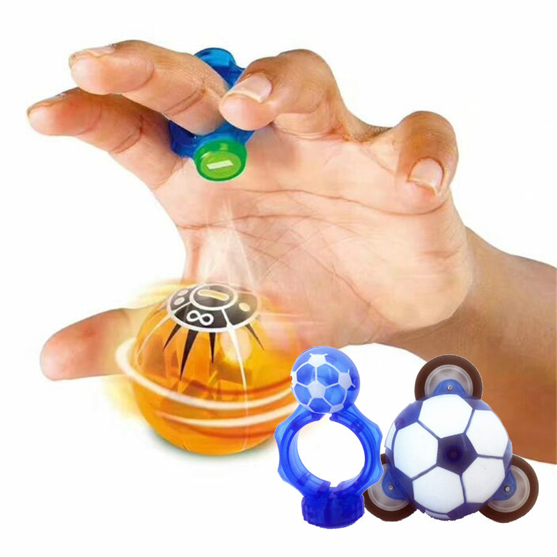 Magic Speed Induction Magneto Spheres Magnetic Flsahing Glowing Ball Spinner Toys Stress Reducer Christmas Gift