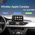 2020 IOS Auto Apple Airplay Android Auto Auto Drahtlose CarPlay Box Für Audi A3 A4 A5 A6 Q3 Q5 Q7 Original bildschirm Upgrade MMI System|Auto-Multimedia-Player|   -
