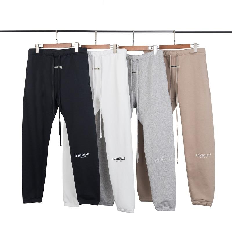2019 New Kanye West Trousers Justin Bieber Sweatpants Fog Essentials Jogger Pants Elastic Waist Hip Hop Pants Streetwear