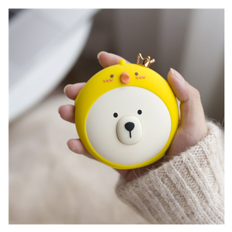 Cute Bear Handwarmer Winter Heater Portable Mini Hand Warmer USB Mobile Power Charging Handy Warming Warm Baby Heater