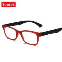 Yoovos – lunettes De Lecture pour hommes et femmes, Anti-Fatigue, carrées, rétro, lumière bleue, 2021, 2021