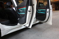For BMW F30 9 color automatic conversion Car neon interior door ambient lights decorative lighting tuning car universal