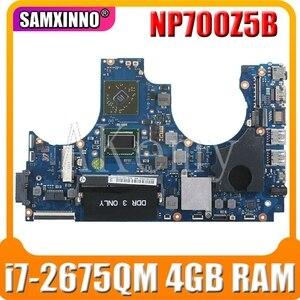 Материнская плата для ноутбука SAMSUNG NP700Z5A NP700Z5B I7-2675QM HD 7470M материнская плата ba92-09017B 216-0810005 HM65